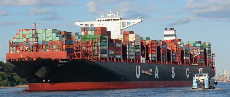 contenedores comercio exterior